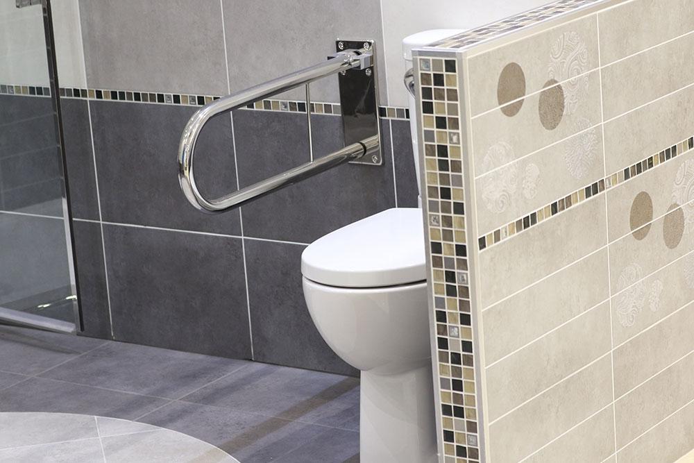 Installation salle de bains PMR Anneyron Drôme
