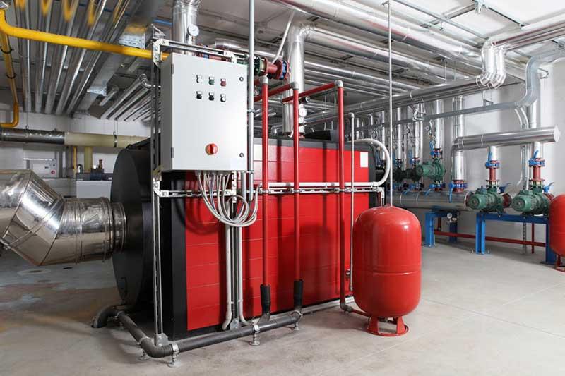 Installation chaufferie industrielle