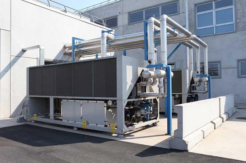 Installation pompe à chaleur pour secteur industriel